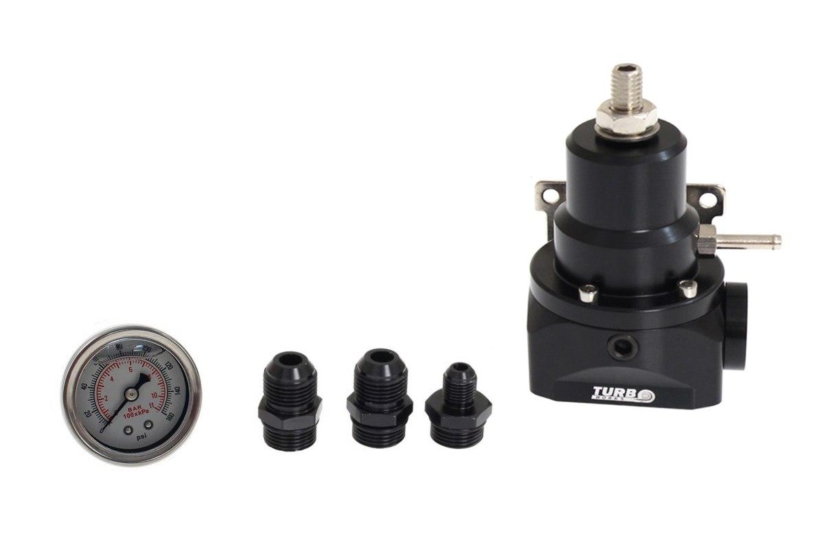 Regulator ciśnienia paliwa z zegarem AN10 - GRUBYGARAGE - Sklep Tuningowy